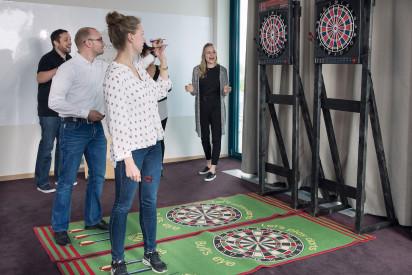 Dart Indoor Zielscheibe Wurf Team