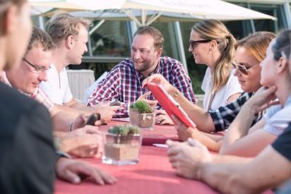 iPad Dinner Rallye Prag