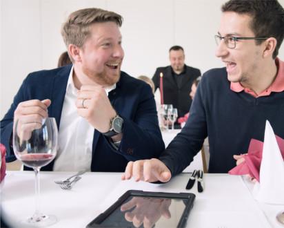 TabTime Erfolg Tablet Lösung Restaurant Potsdam