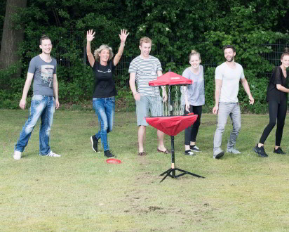 Discgolf Team Ziel Korb