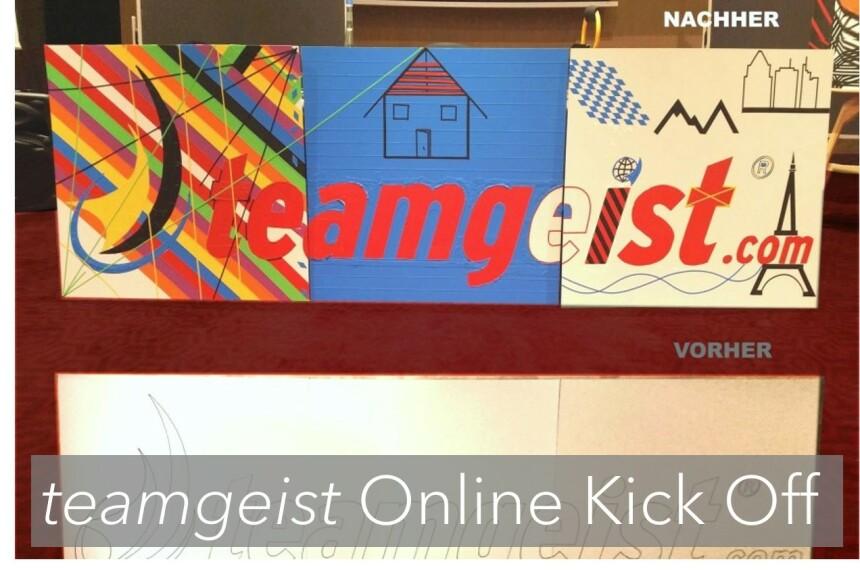 Remote Tape Art als Online Kick Off Event 0