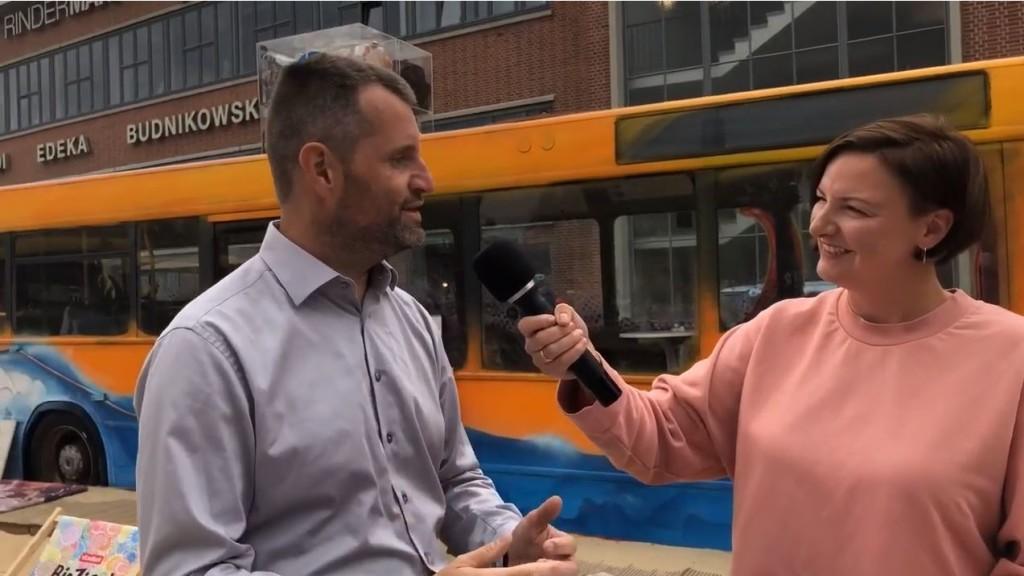 Interview Dominik Lorenzen und Christina Engel Karo Beach Nachhaltigkeit bei teamgeist