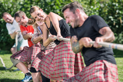 Highland Games in Potsdam