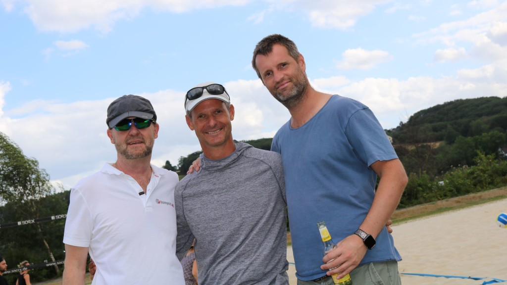 teamgeist Sommercamp 2019 Micha, Dominik und Peter