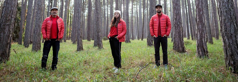 Teambild teamgeist Wien im Wald