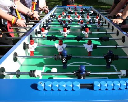 Das Team Kicker Turnier mit teamgeist-Hamburg