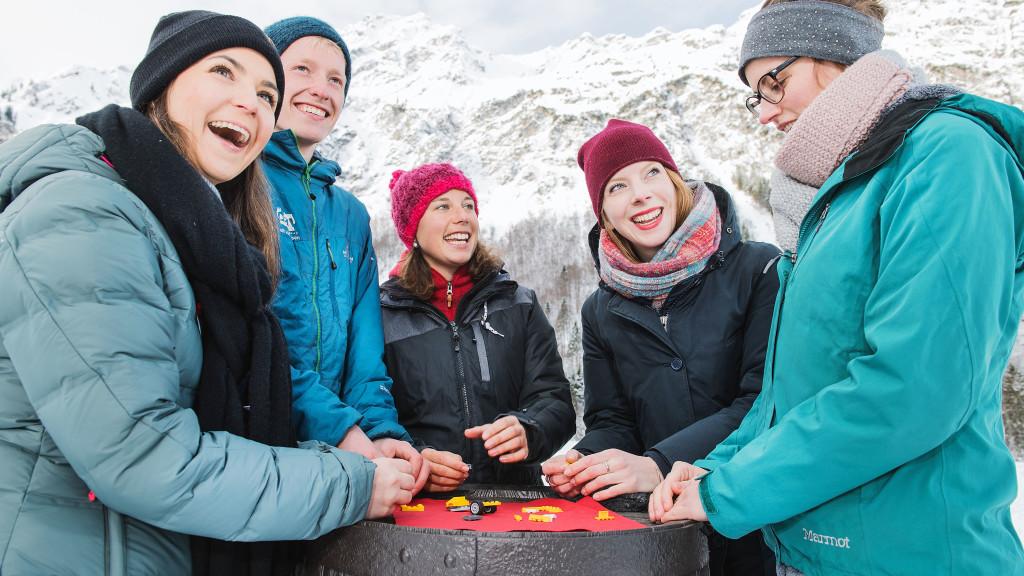 Team Challenge mit spannenden Aktivitäten im Winter
