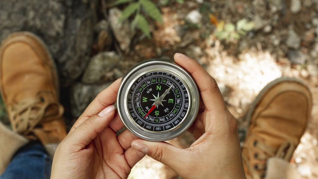 Arbeiten Sie an Ihrem inneren Wertekompass