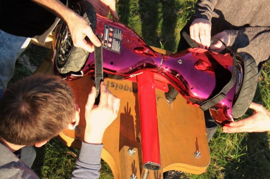 Emobility - Bauen einer Seifenkiste