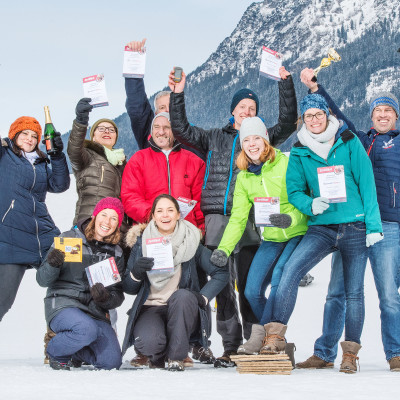Rallye mit GPS Geräten im Winter