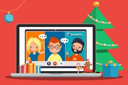 virtuelle weihnachtsfeier digitale