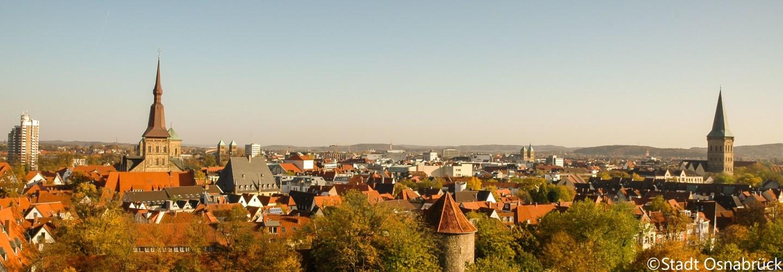 Panorama Stadt Osnabrück (copyright)