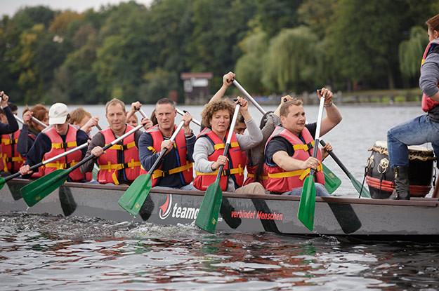 Drachenboot-Team