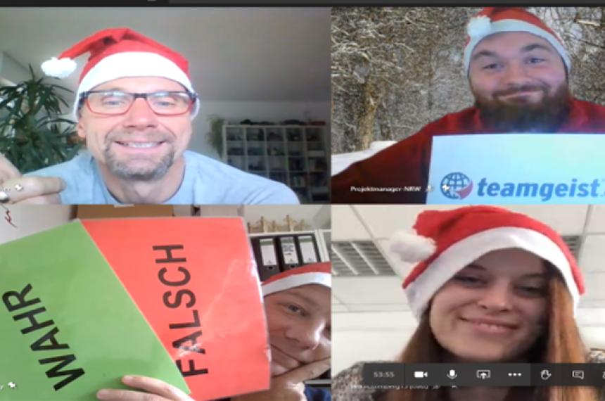 Online Weihnachts Team Quiz 0