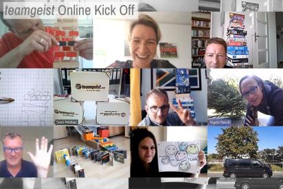 Remote TeamParcours als Online Kick Off Event