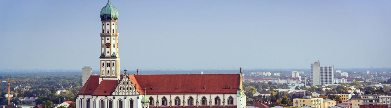 Augsburg Innenstadt Kirche Ulrich und St. Afra