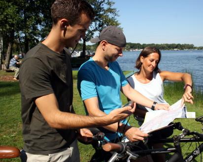 Team Fahrrad See Karte GPS