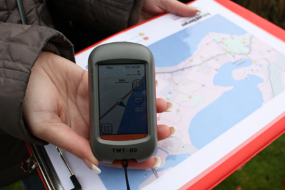 GPS Rallye GPS-Gerät-Trier