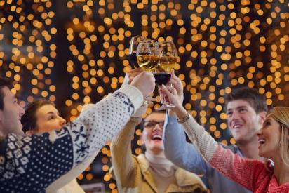 Neujahrsevent in Krefeld
