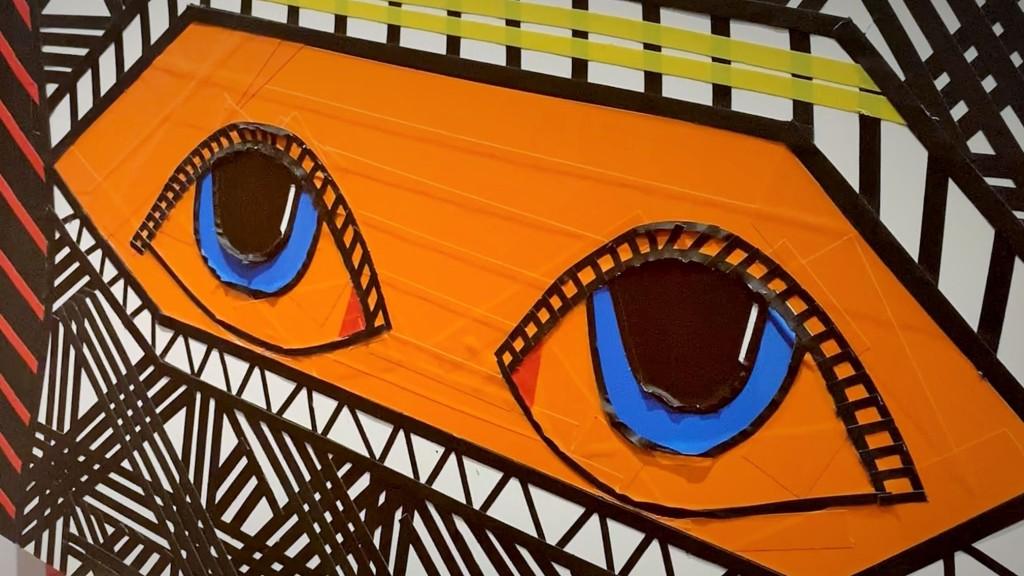 Kunstwerk - Gesaltung mit Tapes (Klebefolien)