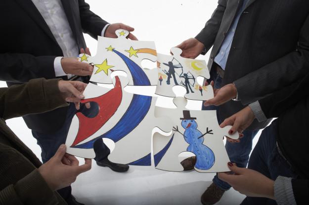 grosses puzzle-Leipzig