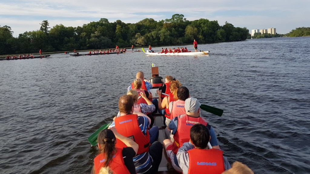 Drachenboot Drachenbootrennen Potsdam