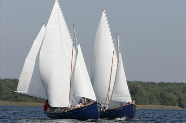 Zwei Segelschiffe-Kolberg