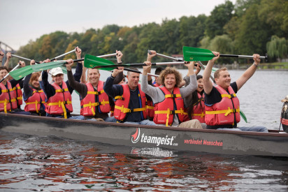 Drachenboot - Teamevent in Berlin