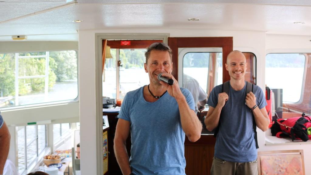 teamgeist Sommercamp 2019 Sven und Marcel Bootsfahrt