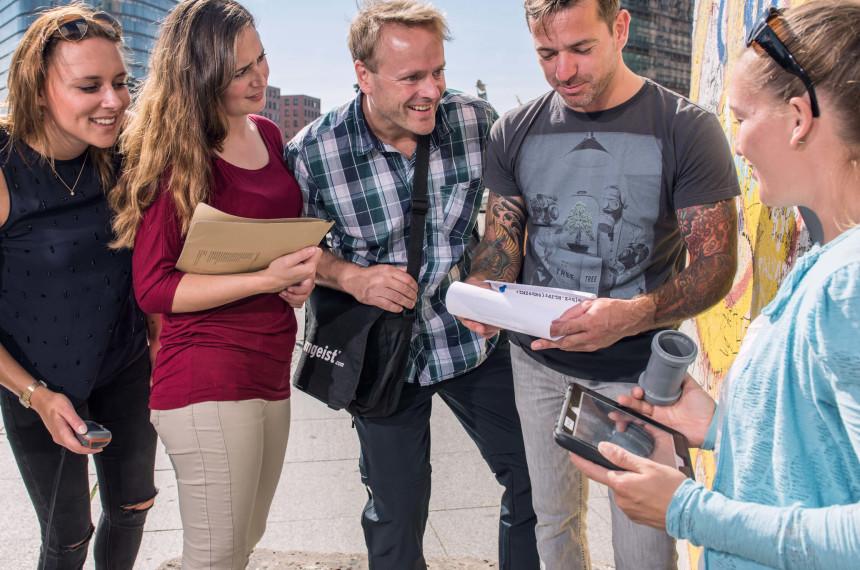 Team Stadt iPad Tablet GPS