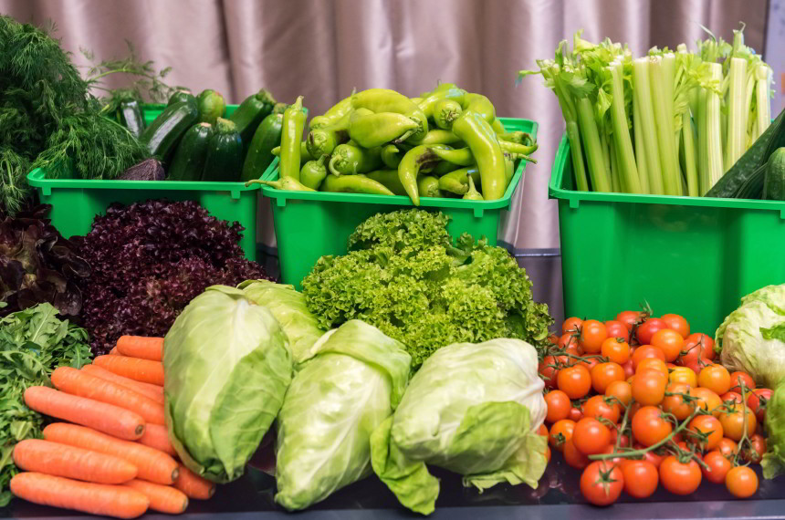 Gemüse Kisten
