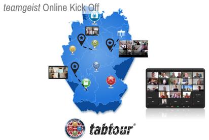 Remote tabtour - die virtuelle Schnitzeljagd als Online Kick Off Event