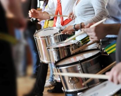 Drumming im Team-Trier