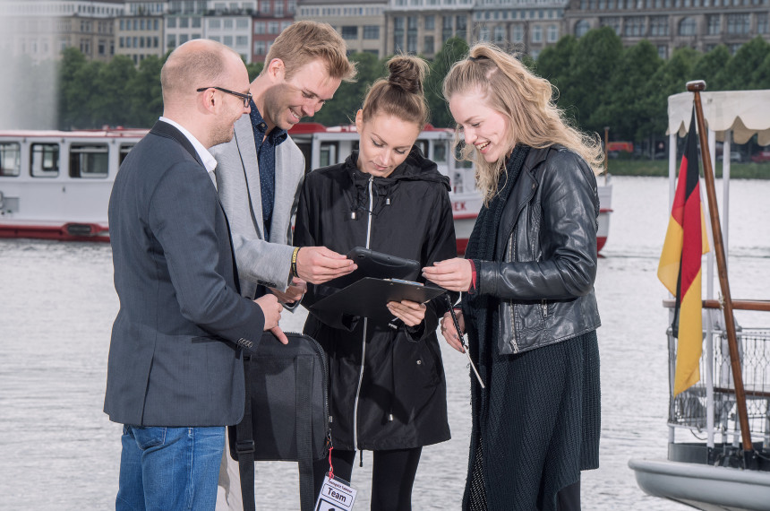 Team Hamburg Alster iPad Tablet