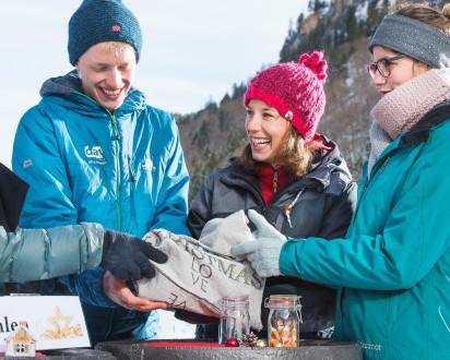 Winter Challenge im Winter mit spannenden Aktivitäten