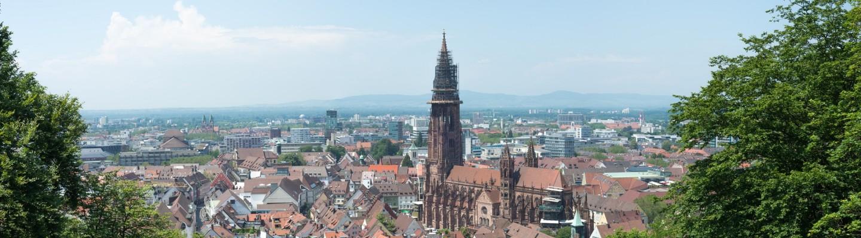 Freiburg mit Freiburger Münster