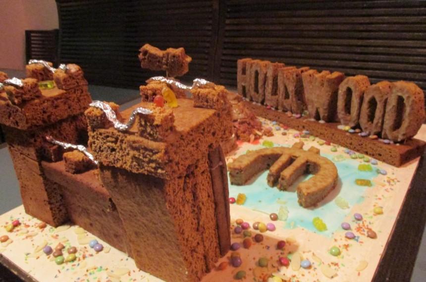 Weihnachtsbäckerei Kunstwerk Teamgeist