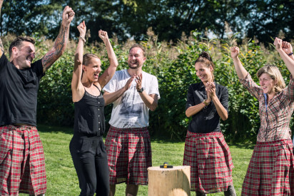 Highland Games in Gelsenkirchen