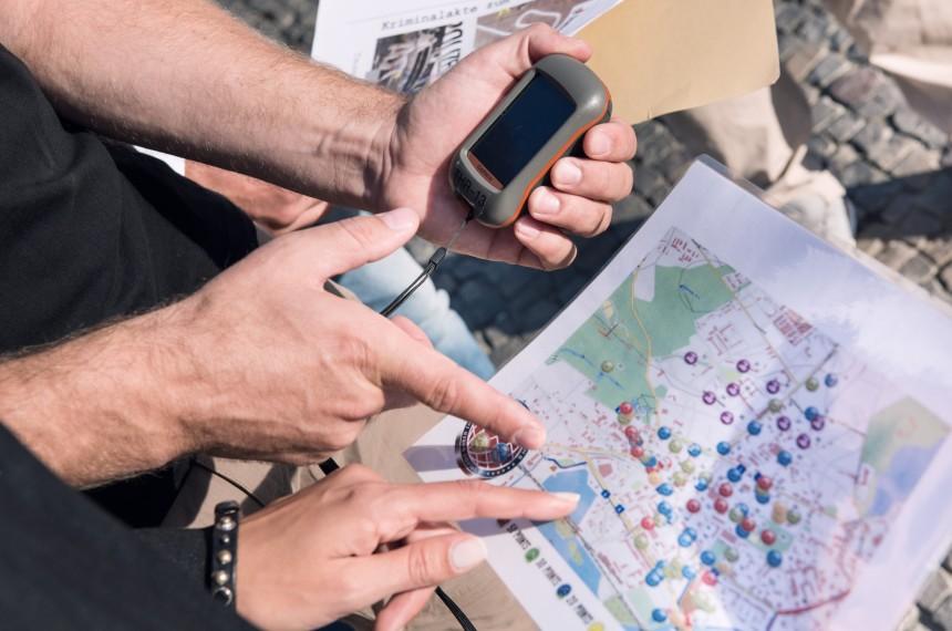 GPS Rallye Berlin Mitte Team Challenge