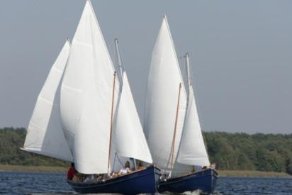 Zwei Segelschiffe-Blossin