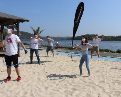 Strand Challenge Abstand