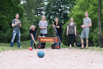 Bosseln Team Wagen Outdoor Kugel