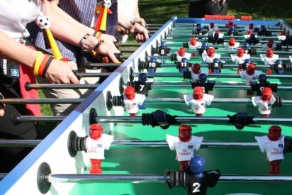 Das Team Kicker Turnier mit teamgeist-Leipzig