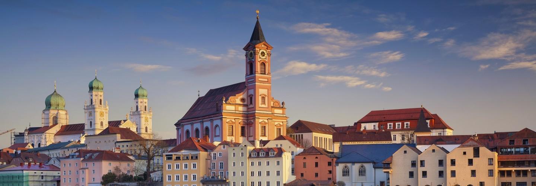 St. Paul und Dom St. Stephan Passau