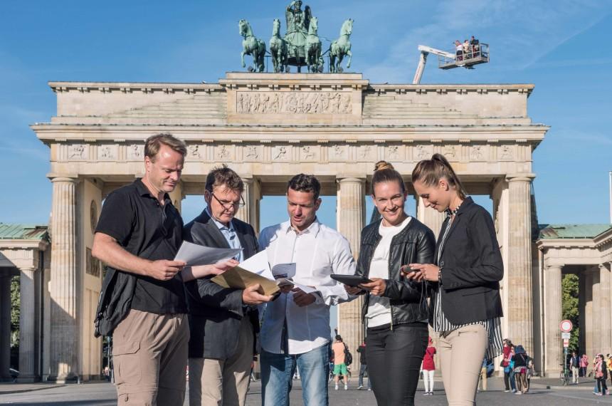 GPS Rallye Berlin Brandenburger Tor Team Challenge