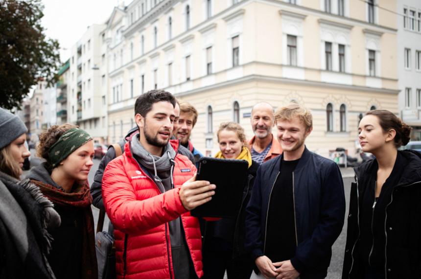 Tabtour Wien Gruppe mit Guide