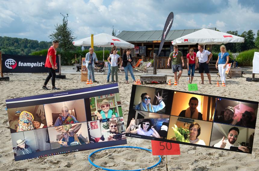 virtuelles Sommerfest