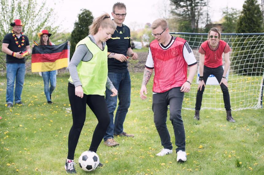 Fußball-Teamchallenge München 1