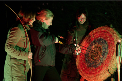 Nachtbogenschießen mit teamgeist-Warnemünde