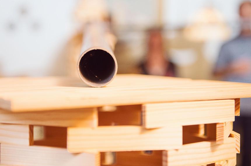 Kapla Bau Holz Indoor